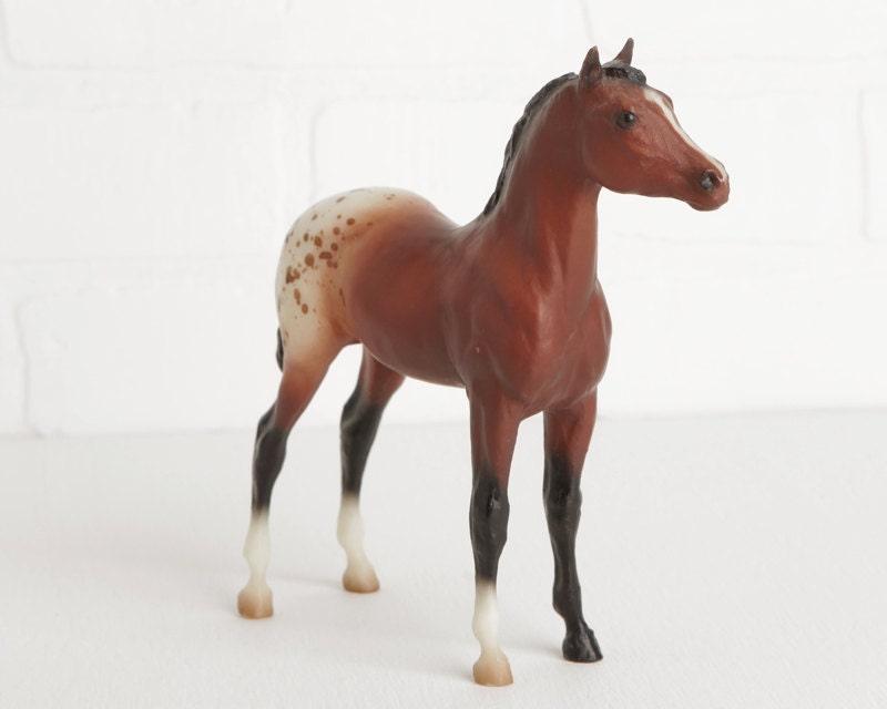 Vintage Breyer Bay Blanket Appaloosa Stock Horse Foal Model | 800 x 640 jpeg 33kB