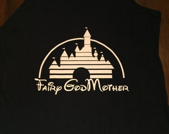 Disney Fairy GodMother Tank - Free Shipping