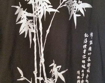 Bamboo on Black