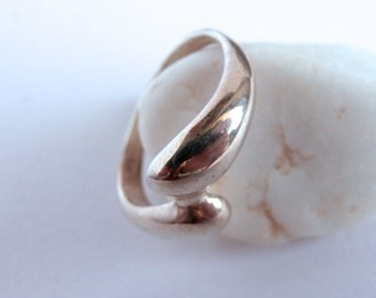 Vintage Bypass Ring - Sterling