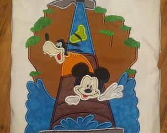 Splash Mountain Mickey Goofy Disney World Custom Shirt