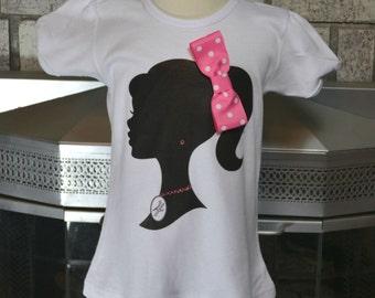 Vintage Barbie Silhouette Shirt