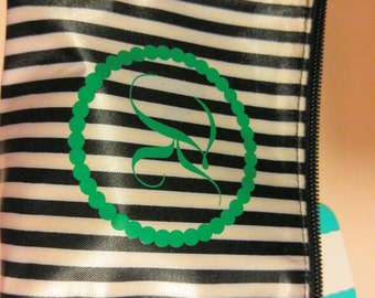 Monogram make up bags