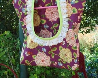 Clothespin Bag, Clothes Pin Bag, Laundry Room Decor, Peg Bag