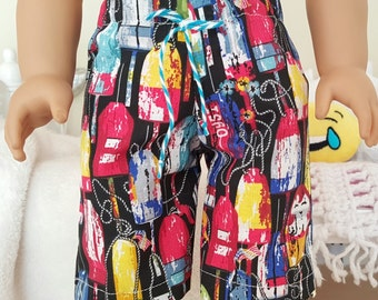18 inch boy doll shorts