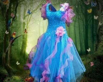 Adult Fairy Costume  ~ Carnival Woman's Fun  Party Dress ~ Theatre ~Mardi Gras ~ Carnival Festival
