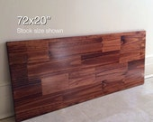 72x20 Wood Tabletop. Stock size shown. Made to Order. Choose Any Color!