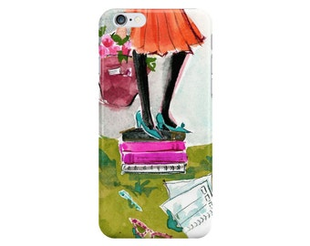 Tights and Tomes: iPhone 6 iPhone 7 Case {iPhone 6s, iPhone 6 Plus, iPhone 5, iPhone 5c}