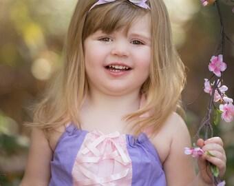 Rapunzel Romper -Tangled Theme - Rapunzel Dress - Birthday Outfit - Rapunzel Halloween - Toddler Costume - Disney Vacation - Princess Gift
