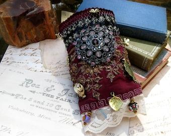 Romantic Wrist Cuff for the Gypsy, Boho, or Adventurous Spirited
