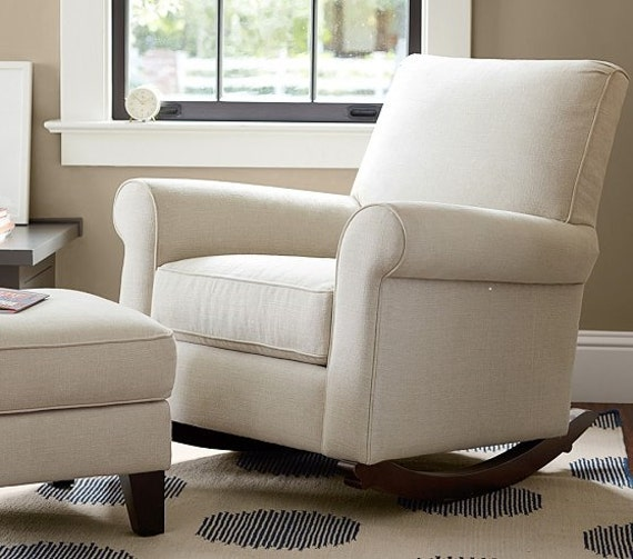 Pottery Barn Charleston Convertible Chair Slipcover Set From