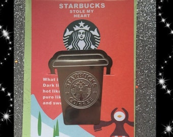 Starbucks coffee bookmark