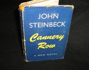 Cannery Row Steinbeck, John First Ed 1945