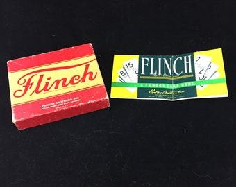 Vintage Parker Brothers Flinch Card Game 1938