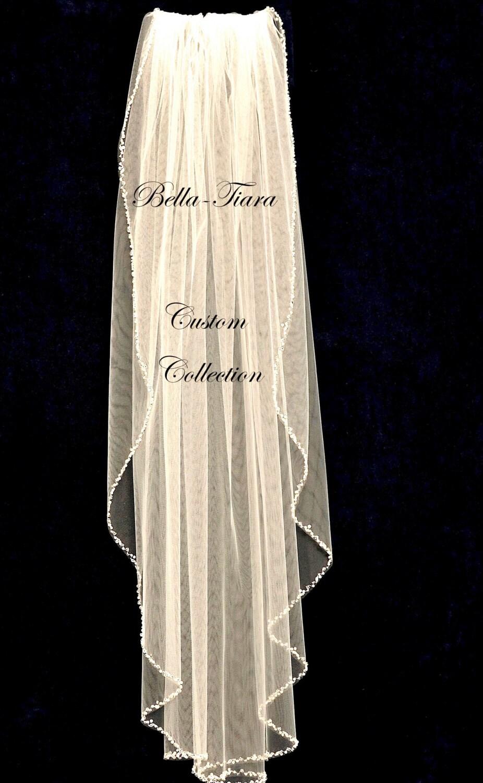 crystal wedding veil champagne wedding veil beaded edge