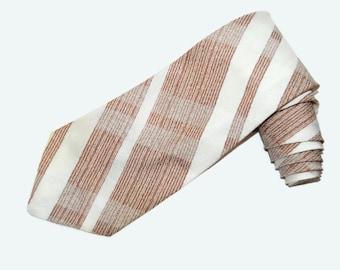70's striped necktie, Trevira