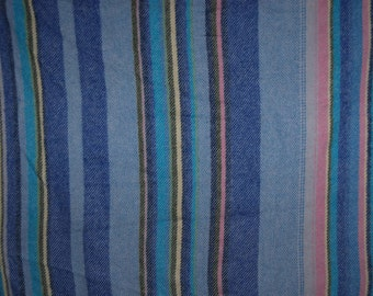 60's wool handwoven blanket, Made in Finland by Villayhtymä