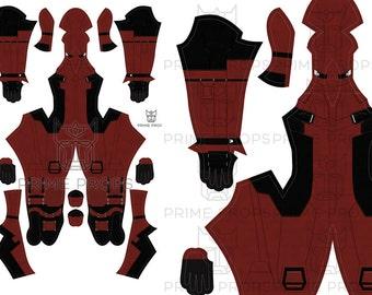 Movie Deadpool Costume Pattern