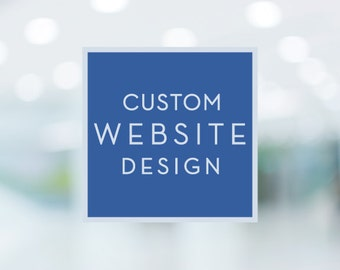 Custom Website Design - Website Design - Ecommerce Website - Website Builder - Business Website