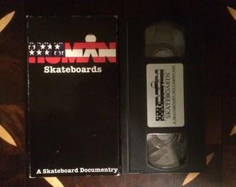 Vintage Skateboard Video HUMAN Skateboards VHS Old School