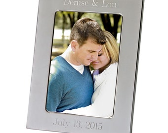 Engraved   Picture, Photo Frame 5 x 7  custom personalized