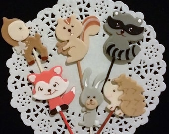 woodland animals baby shower rustic baby shower woodland cake decor woodland animal