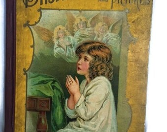 Bible Stories and Pictures-By James Weston-Hurst and Company, New York-Early 1900s-Children's Book-Kids Book-Bible Story Book