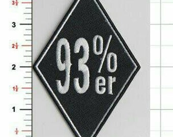 For the 141st solar return of Aleister Crowley , NFPI presents thee 93% patch! A perfect addition to your biker/magickian vest.