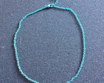 Blue Chain 16 inches