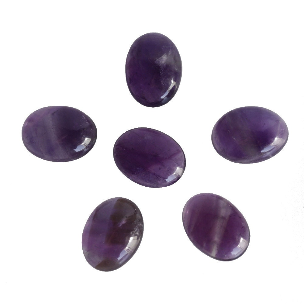 11x9mm oval shape amethyst lot gemstone calibrated