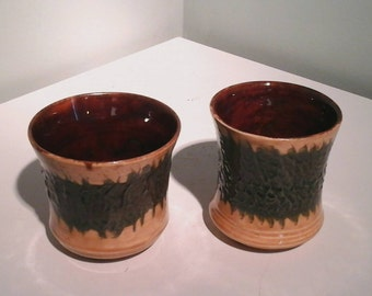 Yunomi tea cups by Hatfield Pottery