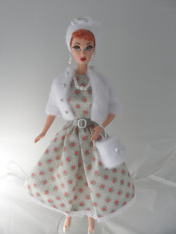 50s Style Barbie Clothes Handmade Barbie Clothing Barbie Doll