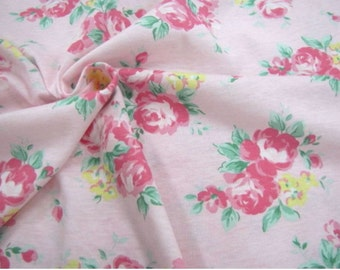 Cotton Jersey Knit Rose Pink By The Yard