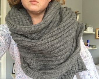Kintted wrap / scarf