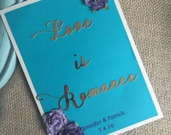 Wedding Table Numbers, custom table numbers, luxury wedding paper cards