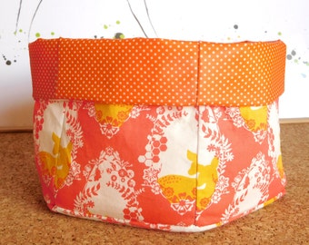 Doe ~ Storage Box, Storage Basket, Fabric Basket, Fabric Organizer, Storage Bin