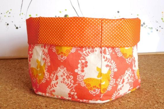 Doe ~ Storage Box, Storage Basket, Fabric Basket, Fabric Organizer, Storage Bin