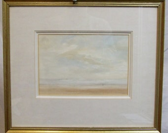 Original watercolour painting Kenneth Lauder Thos Agnew label listed artist framed art Freight extra cost global gift