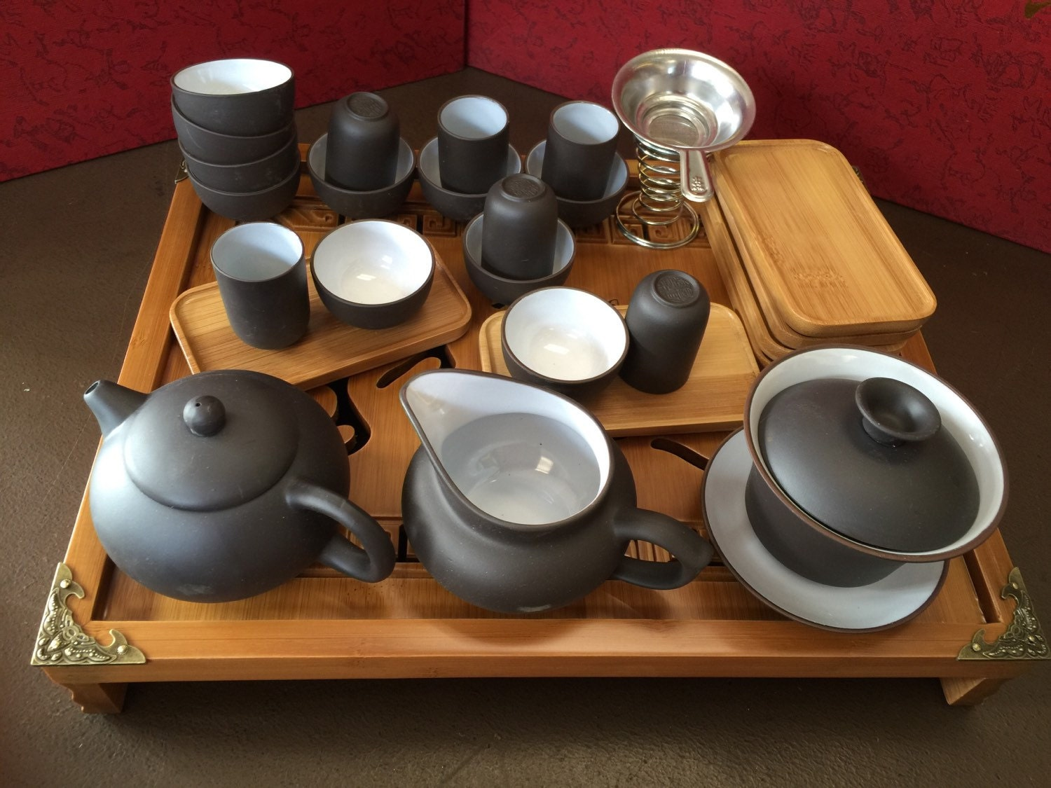Yixing Tea Set With All You Need For Chinese Traditional