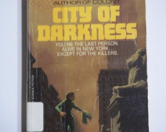 City of Darkness by Ben Bova Berkley Books 1982 Vintage Sci-Fi Paperback