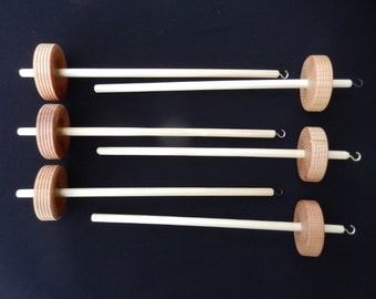 Top or Bottom Whorl Spindles