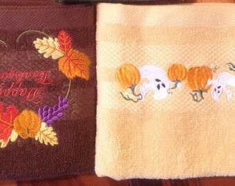 TOWELS for the Fall Holidays