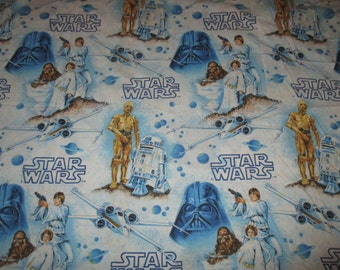 Vintage Star Wars Bedding Twin Flat Bed Sheet