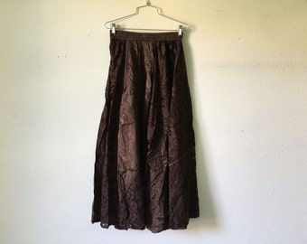 Vintage 1980's Skirt Made in India