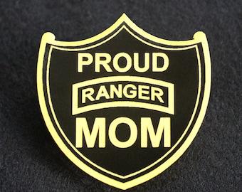 Proud US Army Ranger Mom Pin
