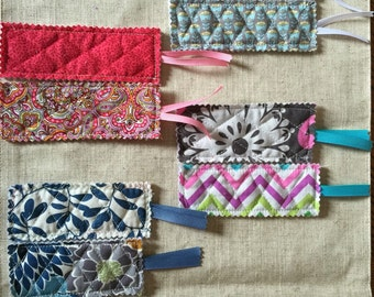 Quilted bookmark