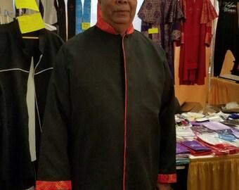Ministerial Jacket Length Robe