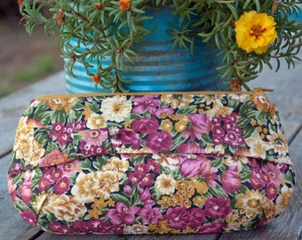 Vintage Floral Pouch