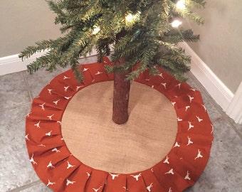 University of Texas Christmas Tree Skirt