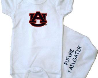 Auburn Tiger Future Tailgater Baby Bodysuit